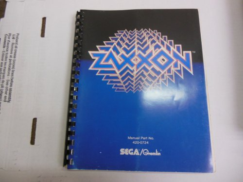 Sega/Gremlin Magazine Manual Zaxxon 1982
