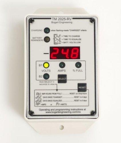 Bogart Trimetric TM-2030-RV-F Amp Hour Meter