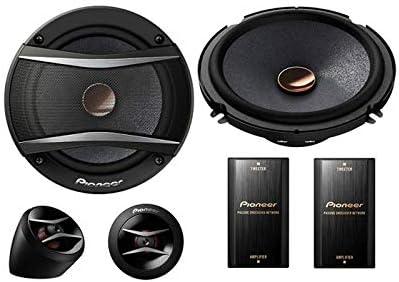 Einbauset Pioneer TS-A1600C 2-Wege 16cm Lautsprecher System Mercedes E-Klasse W210 Heck Ablage
