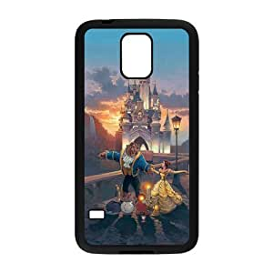 Beauty And The Beast, Cartoon Protective Back For Case Iphone 5C Cover PC