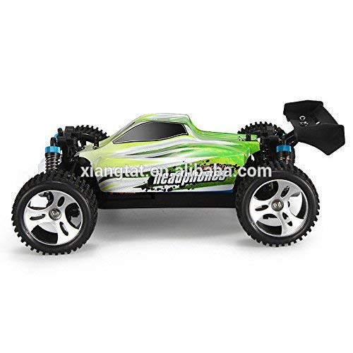 Xiangtat LPZ WLtoys A959-B 1/18 4WD Buggy Off Road 1:18 RC Car 70km/h 2.4G Radio Control Truck RTR RC Buggy with Battery A959 Updated Version