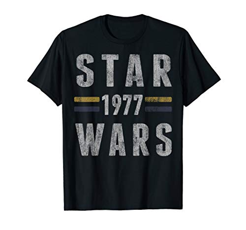 - Star Wars 1977 Vintage Collegiate Retro Graphic T-Shirt