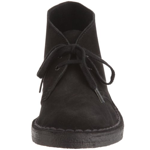 Flats Black Suede Clarks Desert Black Womens Loafer Originals Boot wnWfaxfq4X