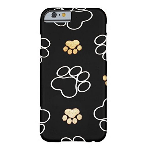Cell World -Paw Prints Dog Puppy-For Apple iPod Touch 6, 6th Generation, Made and shipped from the USA Style 302 (Ipod 4 Touch Army Case)