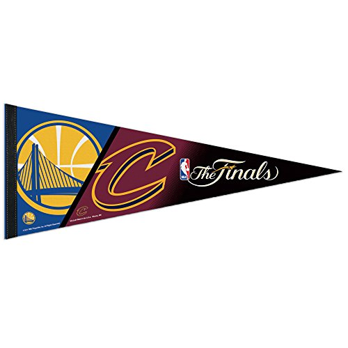 WinCraft Golden State Warriors 2017 NBA Finals Dueling Team Pennant Flag by WinCraft