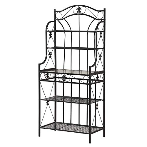 Home Source R-0019 Black Baker's Rack by Home Source (Image #3)