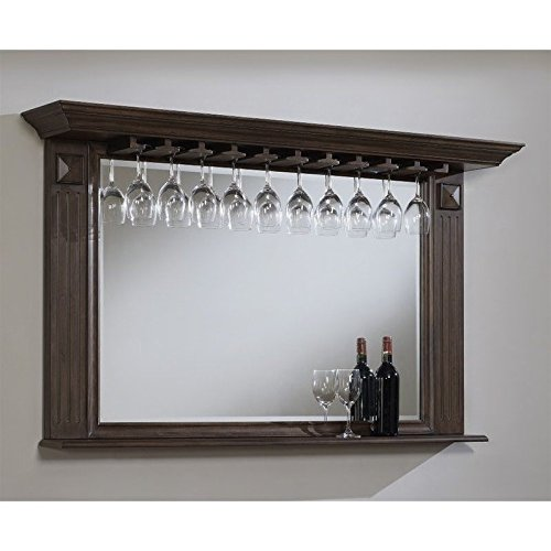 American Heritage Beveled Mirror in Pewter Finish 668186 ()
