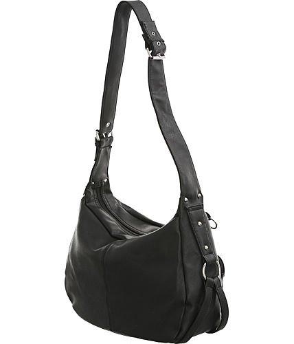 Utilitarian Shoulder Bag Black Large Women s Hobo Handbags by Laurel and  Sunset  Amazon.in  Shoes   Handbags 745164eb288ce
