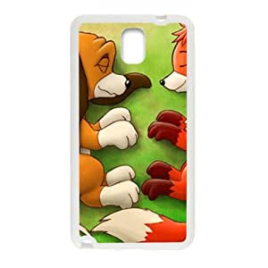 Lovely fox and wolf Cell Phone Case for Samsung Galaxy Note3