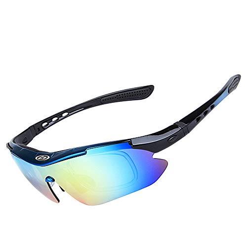 Black Lentes SP0868 Exteriores Sun polarizadas Glasses para Hombres Sol Clarity 3 Black UV400 5 Color de para WEATLY Gafas protección de PqxxAH
