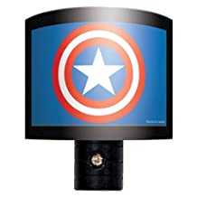 Ata-Boy Marvel Comics Captain America Logo Nite Lite