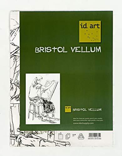 i.d. art Bristol Vellum Art Paper Pad (9x12) [並行輸入品]   B07T8Q1RSF