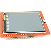 2.4 Touchscreen TFT LCD Display Screen Shield Module for Arduino with 320x240 Pixels Resolution from Optimus Electric Pack of 5