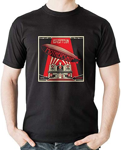 9f9eb36d360 MankiTees Led Zeppelin - Mothership - Hard Classic Vintage t Shirt - Rock Music  Band t Shirts for Rock Concerts and Headbangers - Hard Rock and Heavy Metal  ...