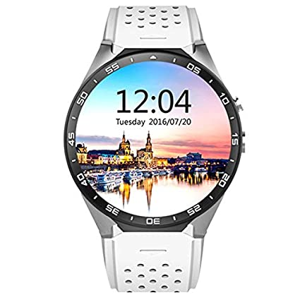 Amazon.com: Semoic Kw88 Android 5.1 Smart Watch 1.39 400400 ...