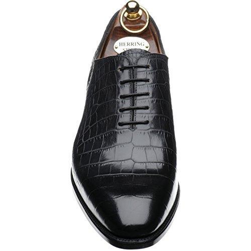 Herring  Herring Chaucer, Chaussures de ville à lacets pour homme marron Noir/croco