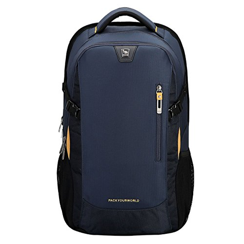 OIWAS Bags Fits Backpack Water theft Backpack Business Anti School Resistant Inch 14 Blue Blue Laptop Travel Under Computer zxnzvr