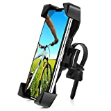 AONKEY One-Touch Release Bike Phone Mount, 360° Rotatable Bicycle & Motorcycle Handlebar Cell Phone Holder Universal for All Smartphones Include iPhone 11 Pro Xs Max XR X 7 8 Plus, Galaxy S10 Note 10