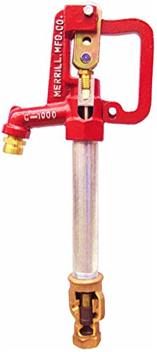 Frost Proof Yard Hydrant - Merrill MFG C7502 Frost Proof Yard Hydrant, Standard C-1000, 3/4