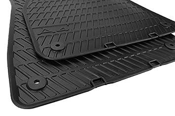 New Rubber Mat Original Audi A S RS E Floor Mats Rubber A - Audi a4 car mats