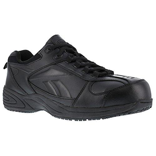 Reebok Women's Jorie Athletic Jogger Work Shoes Composite Toe Black 12 EE US sphML1