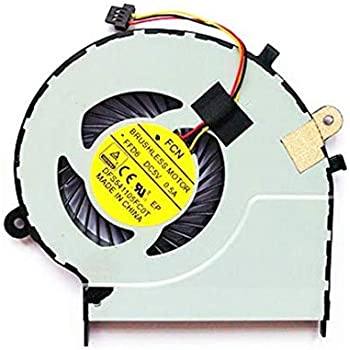 CPU Cooling Fan Replacement fit for Toshiba Satellite L50-B L50D-B L50DT-B L50T-B L55-B L55D-B L55DT-B L55T-B