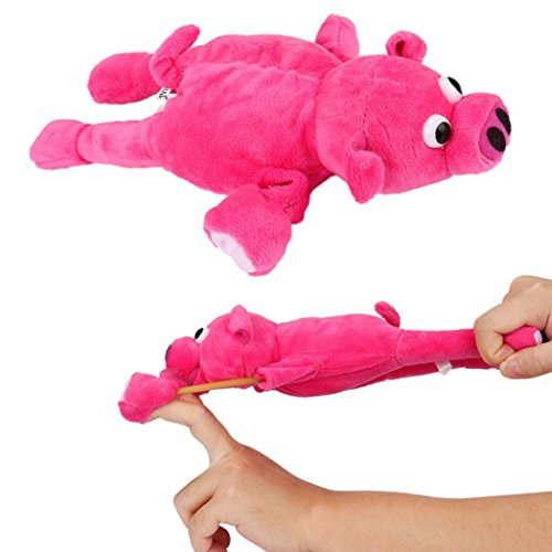 Price comparison product image OUABO Flingshot Slingshot Flying Screaming Monkey Funny Animal Dolls Plush Toys Screaming Surprise Funny Toy For Children (Hot Pink)