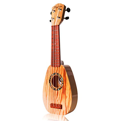 17 inch Ukulele Guitar 4 Strings Musical Instruments Educational Beginner Kids Learning