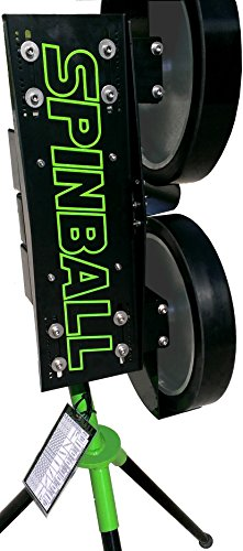 Spinball Wizard 2 Wheel Softball Pitching Machine