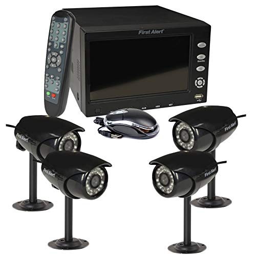 - First Alert Dvr 500gb Security System
