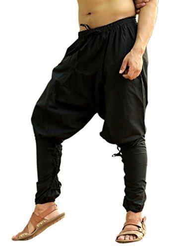 Sarjana Handicrafts Mens Womens Cotton Churidar Pockets Harem Pants Yoga Pajama Ethnic Trouser