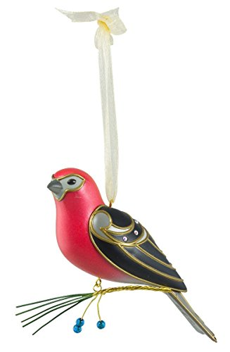 Hallmark Keepsake Ornament Pine Grosbeak 12th in Series 2016