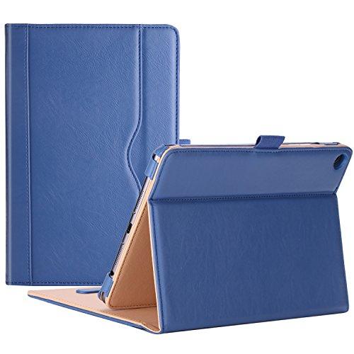 ProCase Verizon ASUS ZenPad Z8s Case - Stand Cover Folio Case for Asus Zenpad Z8s ZT582KL ASUS-P00J 4G LTE Tablet (2017 Released) -Navy Blue