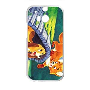 Lovely cat and dog Cell Phone Case for HTC One M8
