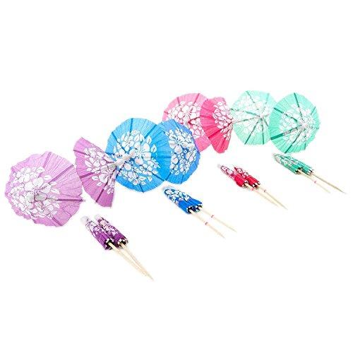 Cocktail Drink Hawaiian Parasol Umbrella