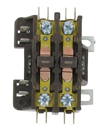 418pqHmbCvL._SY450_ honeywell dp2030a1004 2 pole contactor 24v 30a amazon com  at webbmarketing.co