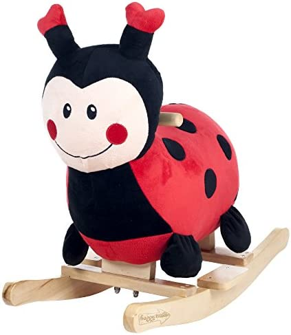 Happy TrailsロッキングLucy the Ladybug Ride On