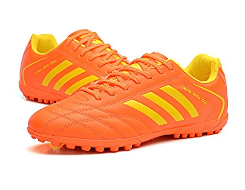 66 TF Shoes No Ground Soccer Orange 10 Town Performance Size Men's Cleat Firm SRxdTR
