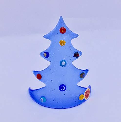 Whimsical Glass Christmas Tree,