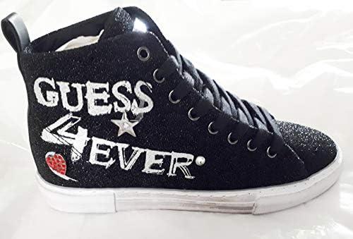 Guess Baskets Femme Pyke Noir