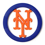Chewbeads MLB Gameday Teether, 100% Safe Silicone - New York Mets