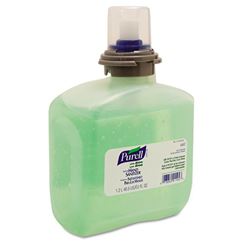 purell-goj-5457-04-advanced-tfx-gel-instant-hand-sanitizer-refill-with-aloe-1200-ml-clear-pack-of-4