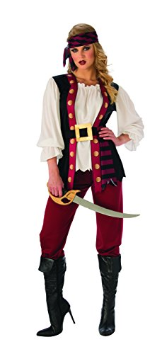 Rubie's Costume 821056-S Co Women's Lusty Pirate Costume,