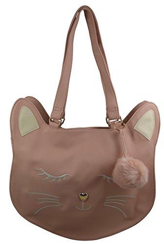 Tote Bag - Pink Cat - 1