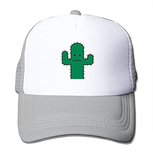 Funny Angst Kaktus 2c Baseball Cap Trucker Hat For Men/Women Adjustable One Size Ash (Kaktus Clothing)
