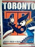 Toronto Blue Jays MLB 48 x 60 Woven Jacquard Throw
