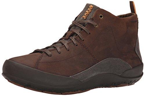 Cushe Cappuccio Impermeabile Allacciatura Sneaker Marrone Scuro