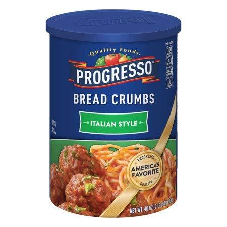 Progresso Italian Style Bread Crumbs, 40 oz - 5 Pack by by Progresso