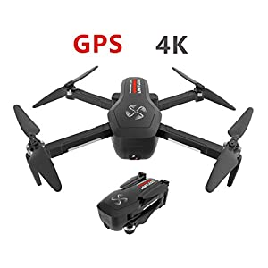 DRONE-CLONE XPERTS Drone X Pro Limitless 4K GPS 5G WiFi Dual Camera Brushless Motor Quadcopter Follow Me Mode 25min Battery 800m Distance 418ptan1C3L