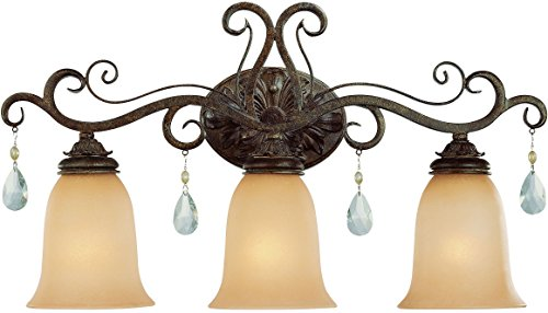 Craftmade 25603-FR 3 Light - Lighting French Wall